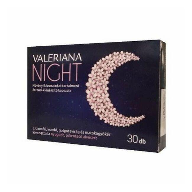 Valeriana Night lágyzselatin kapszula 30x