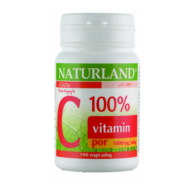 Naturland 100% C-vitamin por 100g