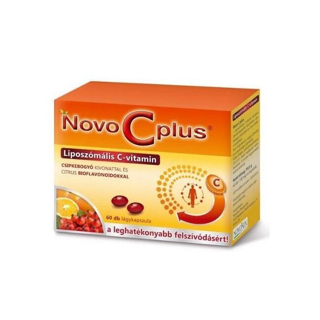 Novo C Plus Liposzómális C-vitamin lágy kapszula 60x