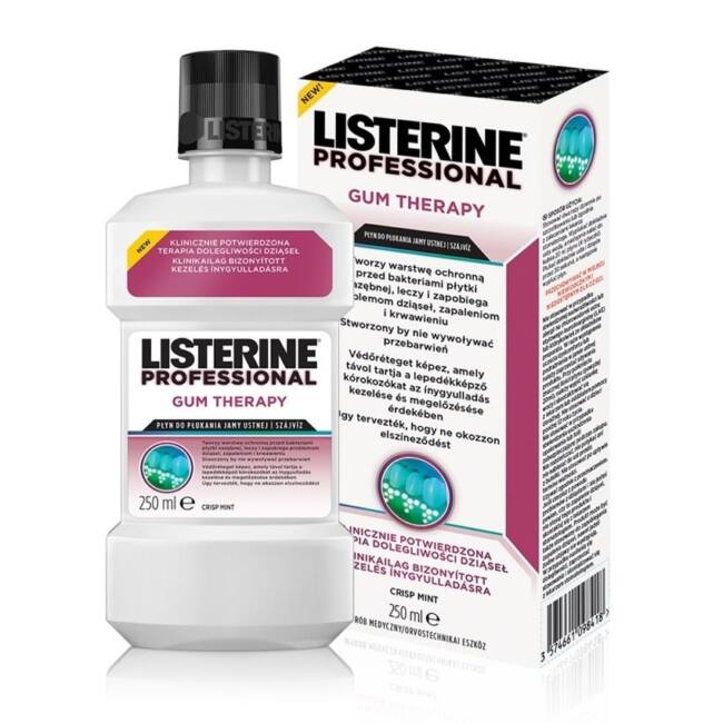Listerine Professional Gum Therapy szájvíz 250ml