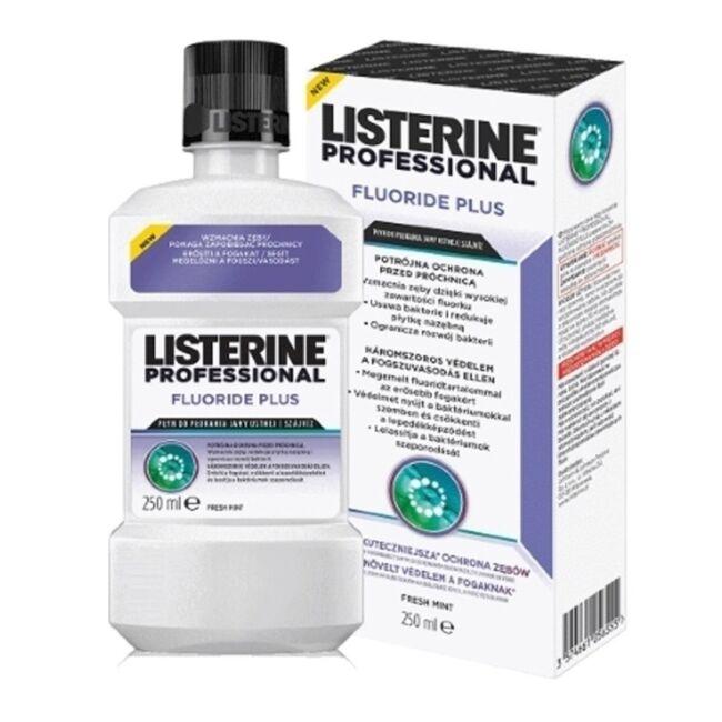 Listerine Professional Fluorid Plus szájvíz 250ml