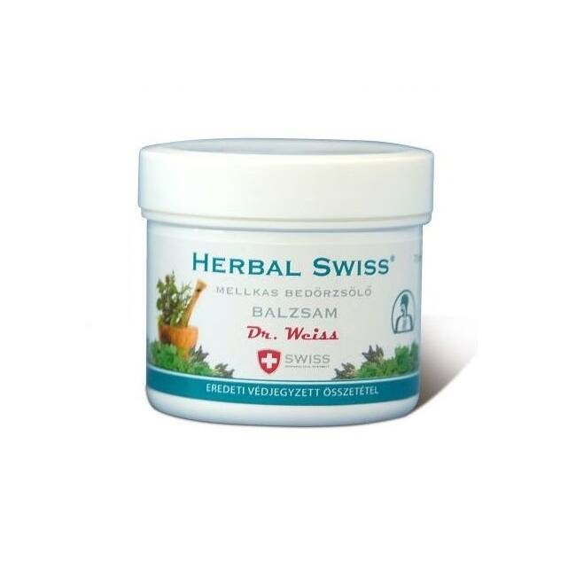 Herbal Swiss mellkas bedörzsölő balzsam 75ml
