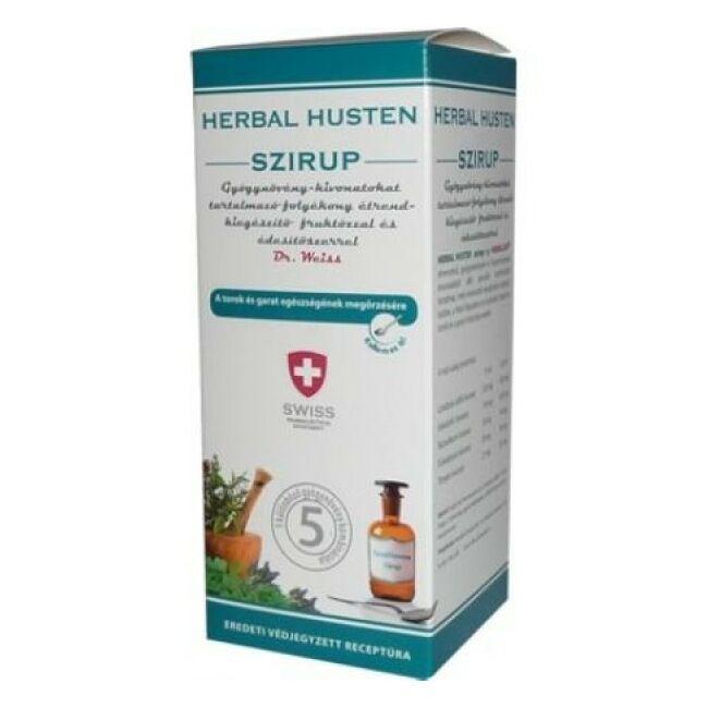 Herbal Swiss Lándzsás útifű szirup 150ml