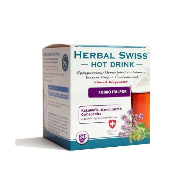 Herbal Swiss Hot Drink forró italpor 24x