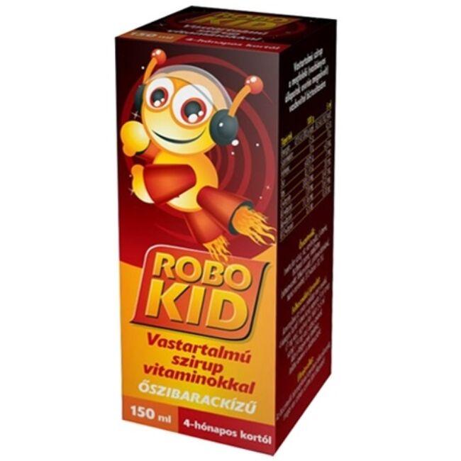 RoboKid Vastartalmú szirup vitaminokkal 150ml