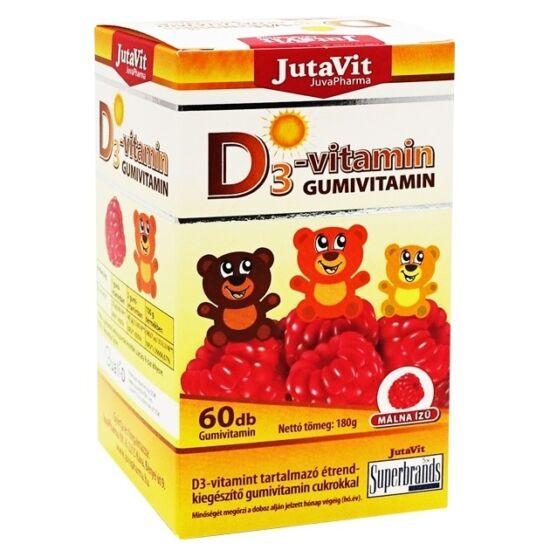Jutavit D3-vitamin gumivitamin 60x
