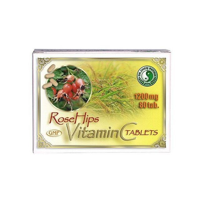 Dr.Chen C-vitamin tabletta csipkebogyóval 1200mg 80x