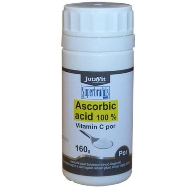 Jutavit Ascorbic Acid (100% C-vitamin) por 160g
