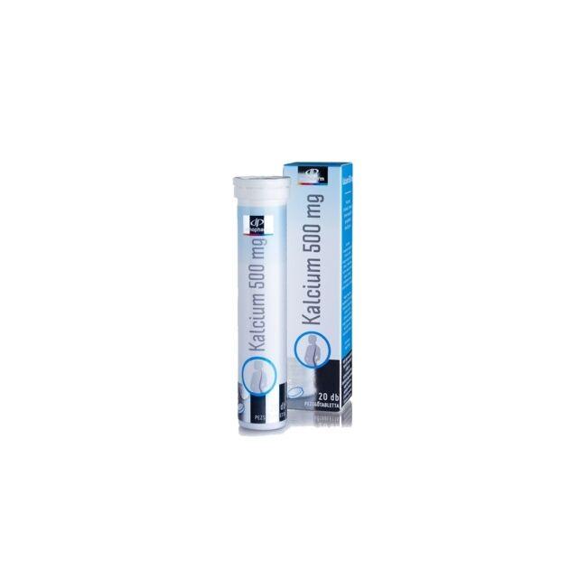 InnoPharm Kalcium 500 mg + D3-vitamin pezsgőtabletta 20x