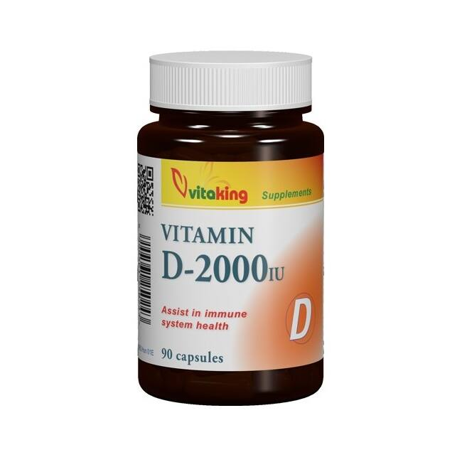 Vitaking D-vitamin 2000NE kapszula 90x