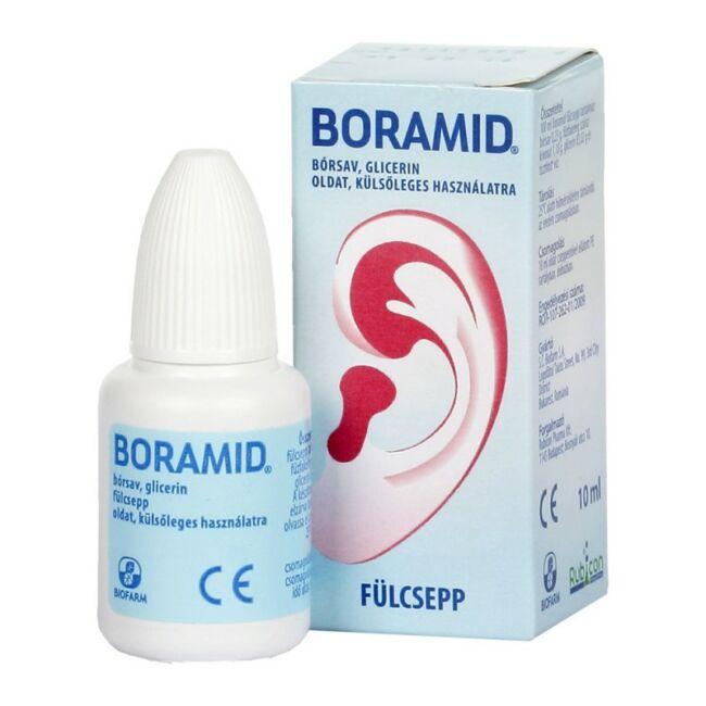 Boramid fülcsepp 10ml