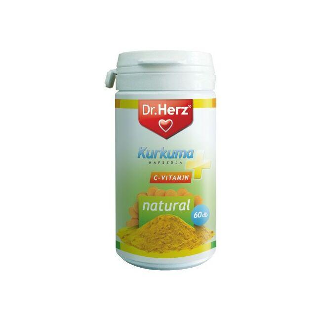 Dr. Herz Kurkuma + C-vitamin kapszula 60x