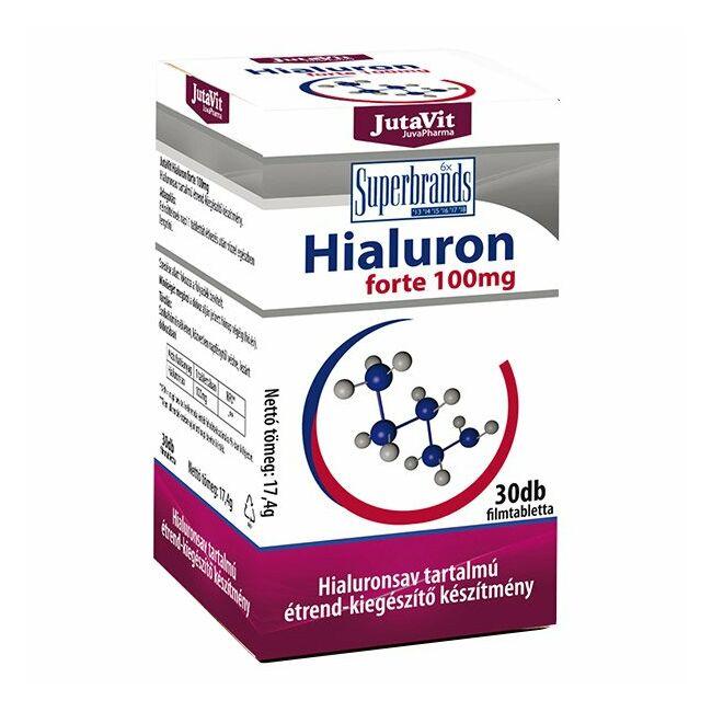 Jutavit Hialuron forte 100mg tabletta 45x