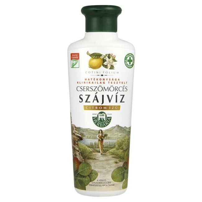 Cserszömörcés szájvíz citrom ízű 250ml