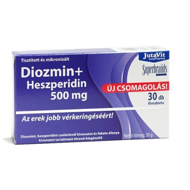 JutaVit Diozmin + Heszperidin 500mg filmtabletta 30x