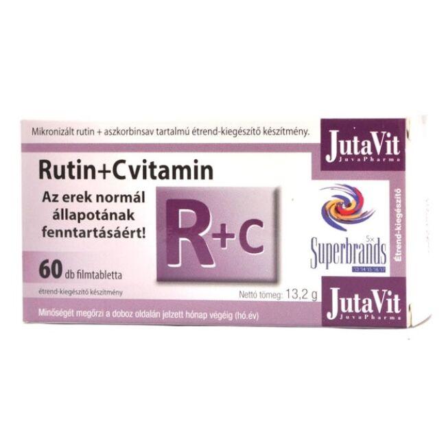 Jutavit Rutin+C vitamin tabletta 60x