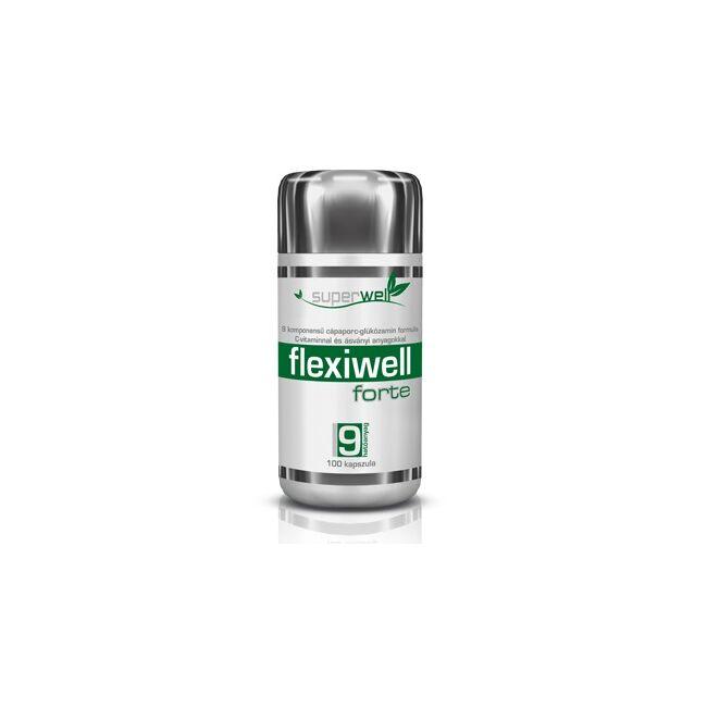 Superwell Flexiwell Forte kapszula 100x