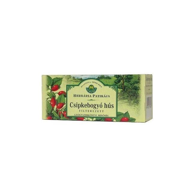 Csipkebogyó tea filteres 25x1,4g - Herbária