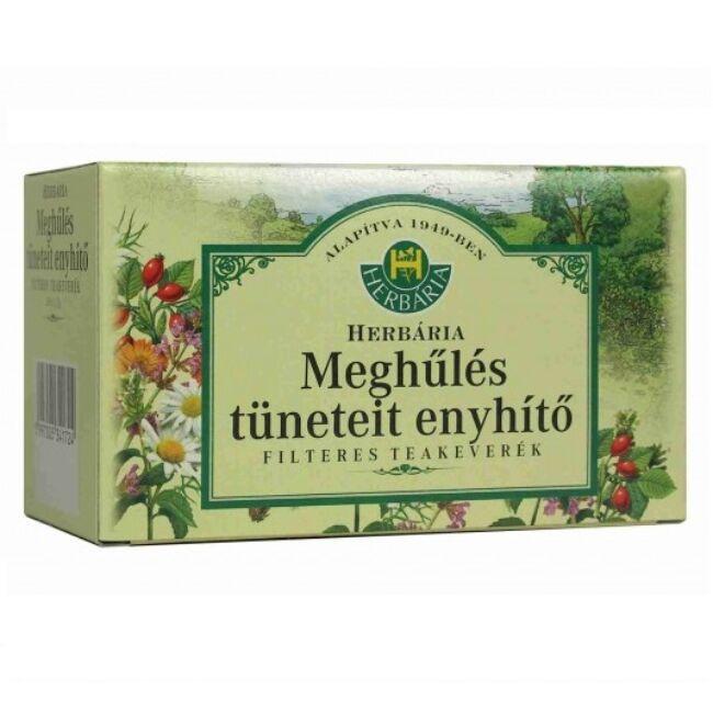 Herbária Meghűlés tüneteit enyhítő teakeverék 20x1,3g