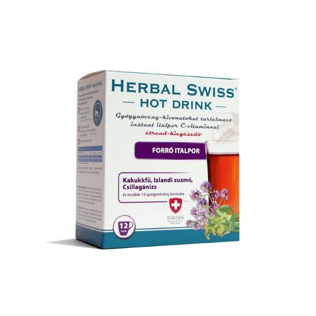 Herbal Swiss Hot Drink forró italpor 12x