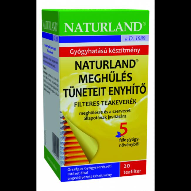 Naturland Meghűlés tüneteit enyhítő teakeverék 20x1,8g