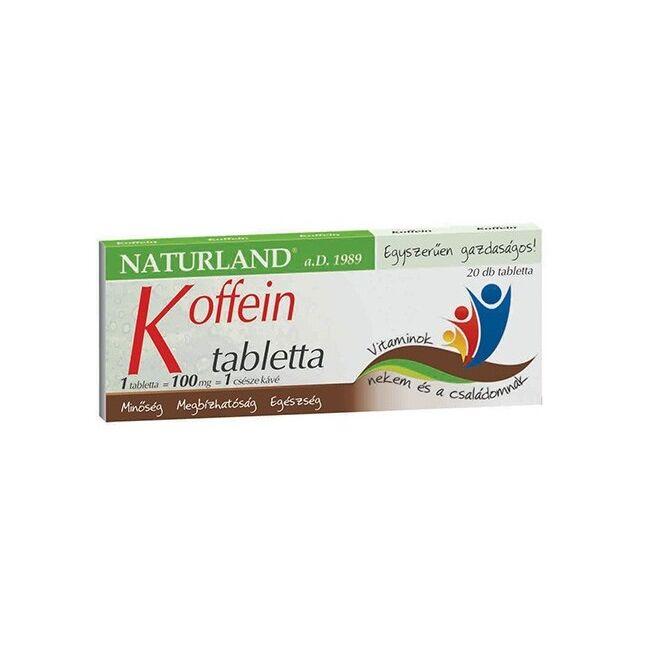 Naturland Koffein tabletta 20x