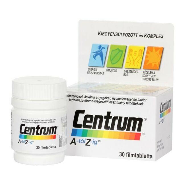Centrum Multivitamin A-Z-ig Luteinnel 30x
