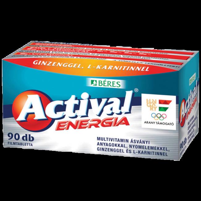 Béres Actival Energia filmtabletta 90x