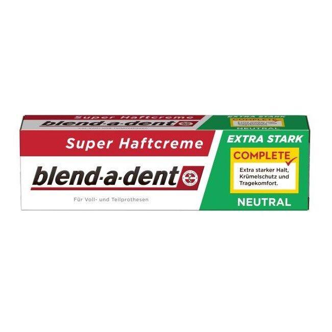 Blend-a-dent műfogsorrögzítő krém - neutral 47g